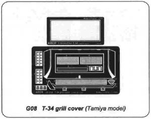 ABG08 Grills for T34 (Tam)